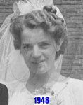 1948 Henny Kuilboer - Wedding Day