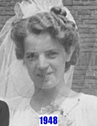1948 Henny Kuilboer - Wedding Day