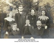 1906 Thomas LB & Sarah Holmes family