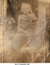 Born 12 September 1884 - Jane (Jenny) Henderson Holmes