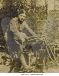 During World War 1 - Harry Child (Born 1880)