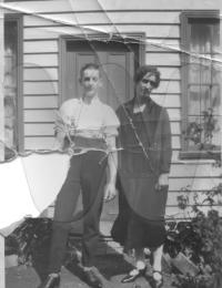 TELFORD William Martin James and Mum Ruth