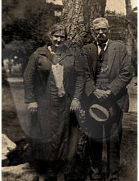 William Telford and daughter Eliza