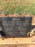 REED Reg and Freda Headstone
