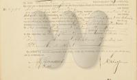 1889 - Rijnders Eduard Death Record
