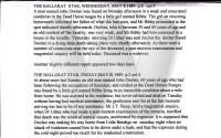 1889 DOOLAN John Newspaper death story